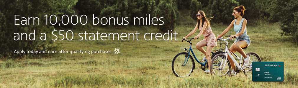 Earn miles with every purchase